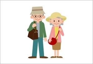 老夫婦の旅行
