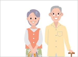 歯の丈夫な年配夫婦